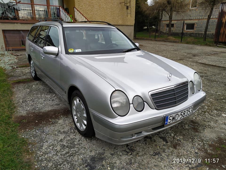 Klasa E – S210 270CDI 2001 – 10500PLN – Wodzisław Śląski