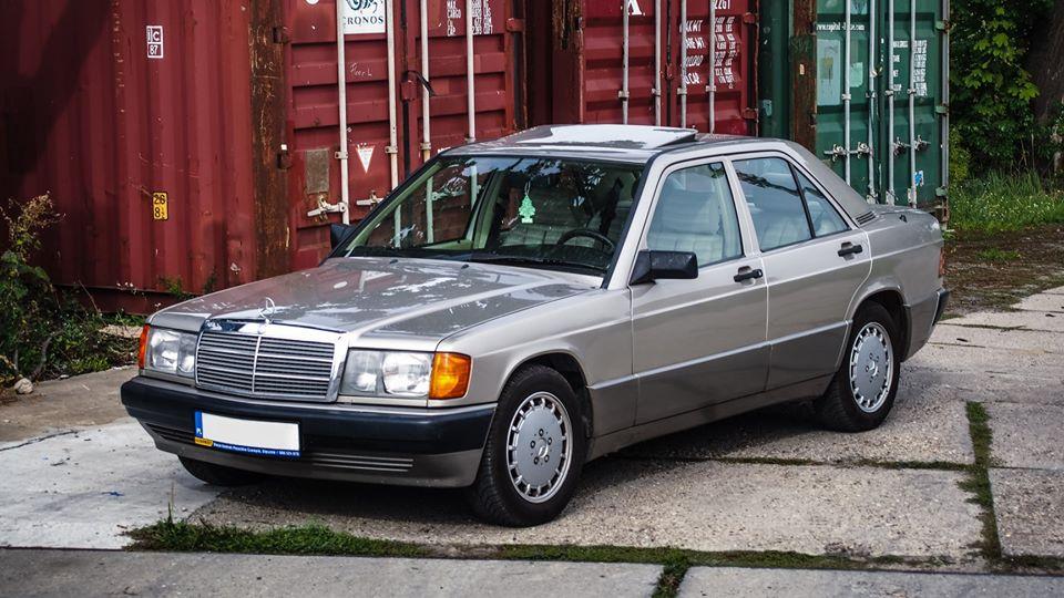 Klasa C – W201 190E 1.8 1991 – 13900PLN – Poznań