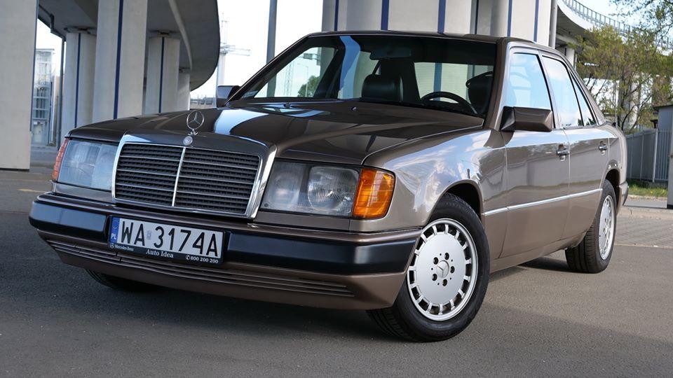 Klasa E – W124 230E 1991 – 12900PLN – Warszawa