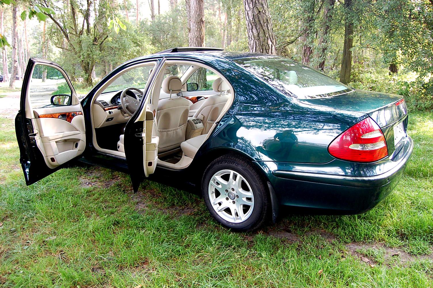 Klasa E – W211 270CDI 2003 – Sprzedany