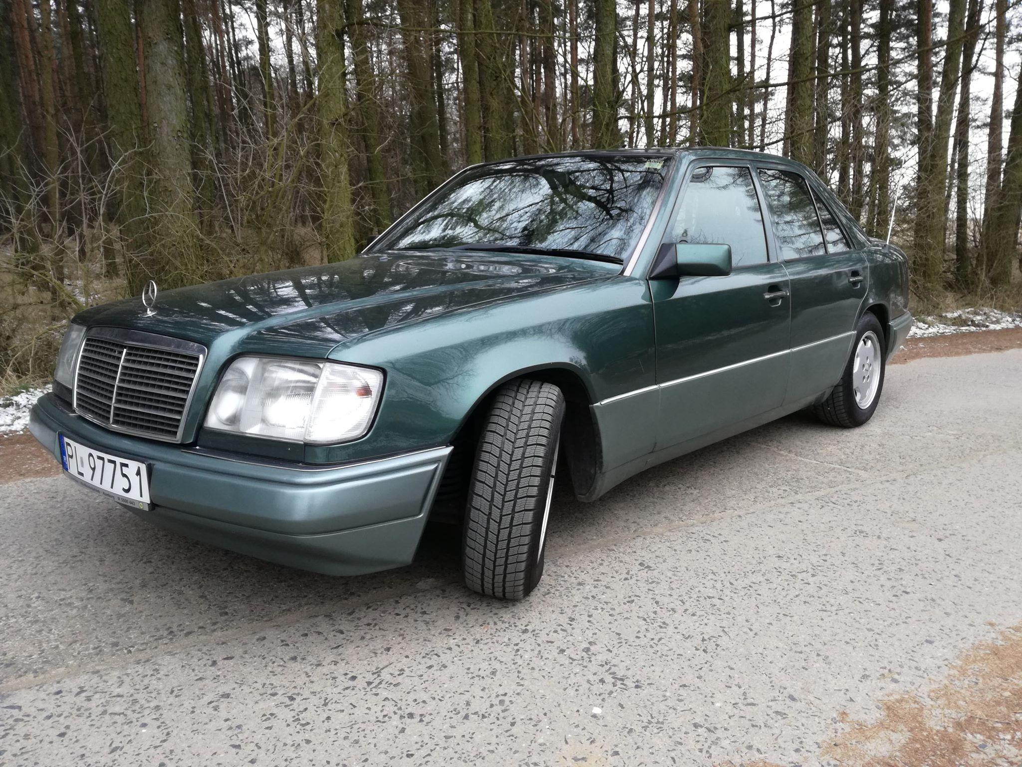 Klasa E – W124 E280 1994 – 11000PLN – Leszno