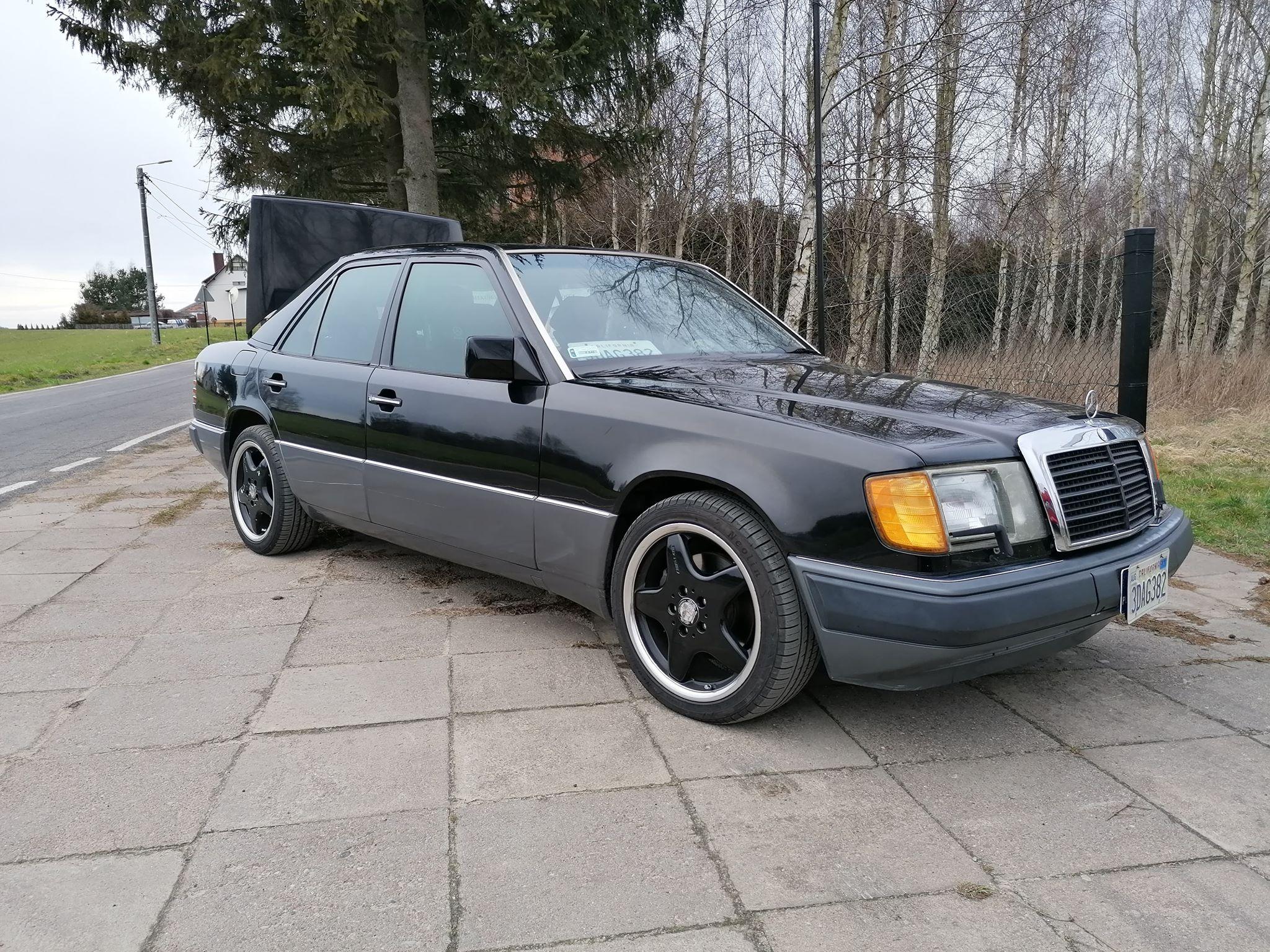 Klasa E – W124 400E 1991 – 30000PLN – Starogard Gdański
