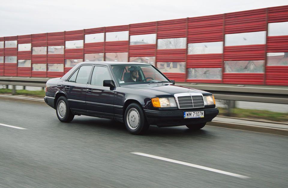 Klasa E – W124 200D 1988 – Sprzedany