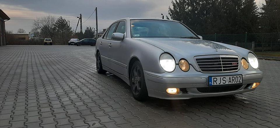 Klasa E – W210 320CDI 2001 – 5200PLN – Jasło