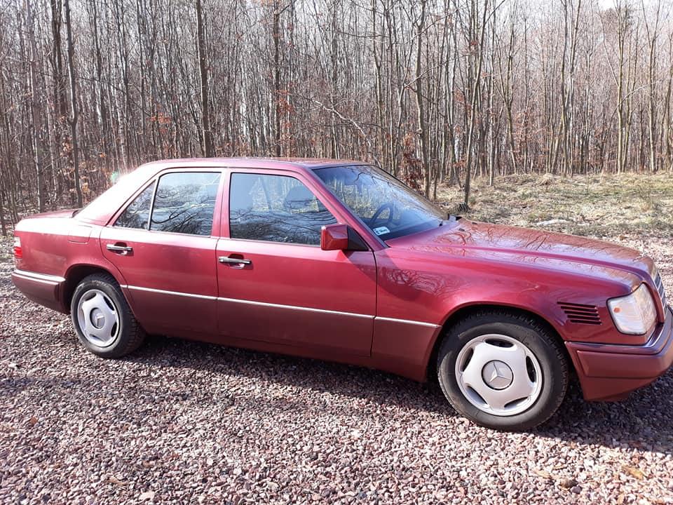 Klasa E – W124 250D 1994 – Sprzedany