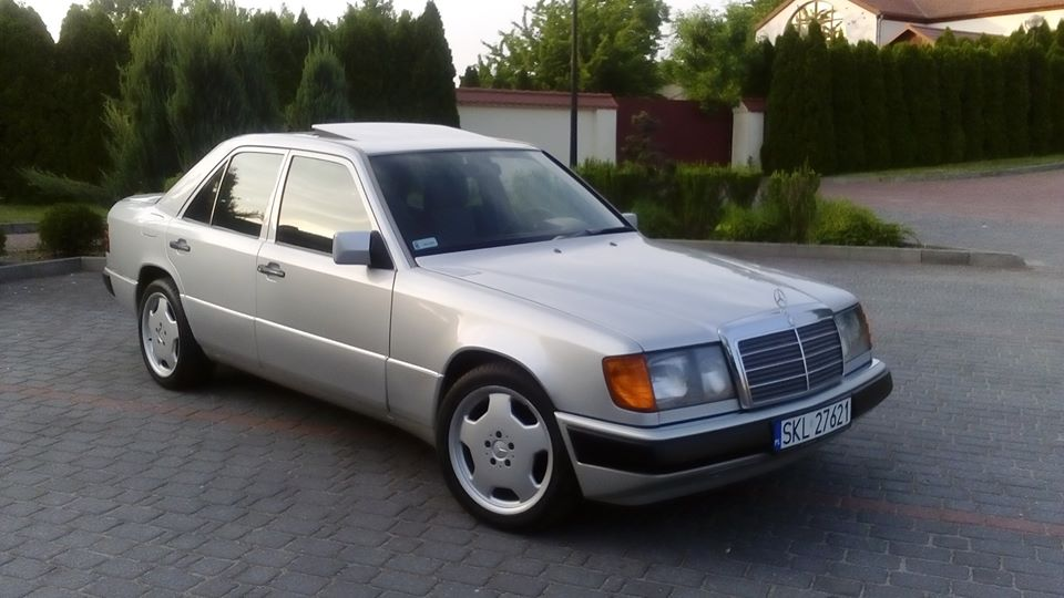 Klasa E – W124 250D 1992 – 18000PLN – Krzepice
