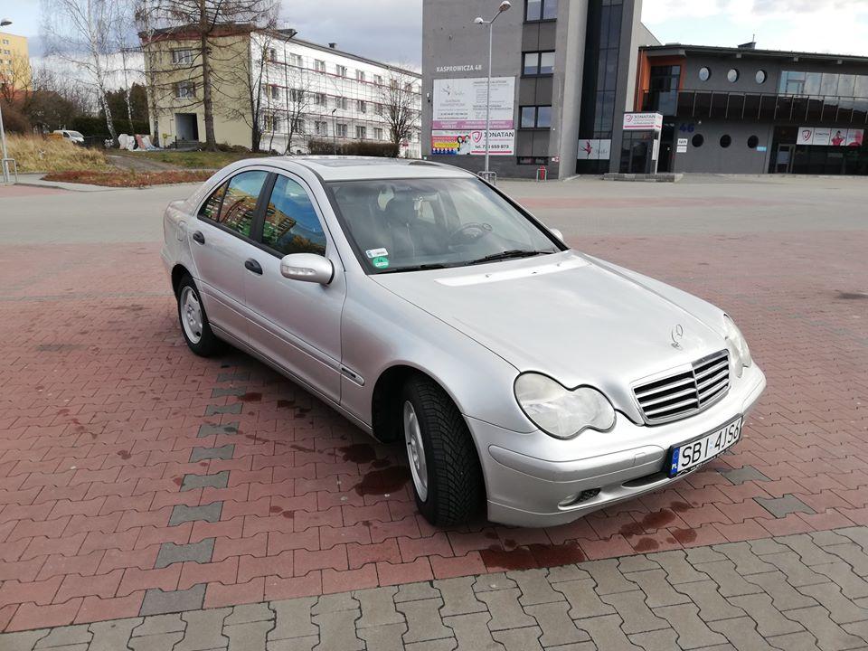 Klasa C – W203 220CDI 2001 – 13499PLN – Czechowice-Dziedzice
