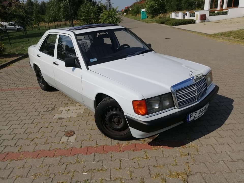 Klasa C – W201 190E 1.8 1990 – 8000PLN – Poznań