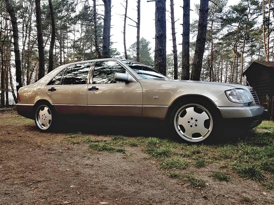 Klasa S – W140 500SEL 1991 – 20000PLN – Międzychód