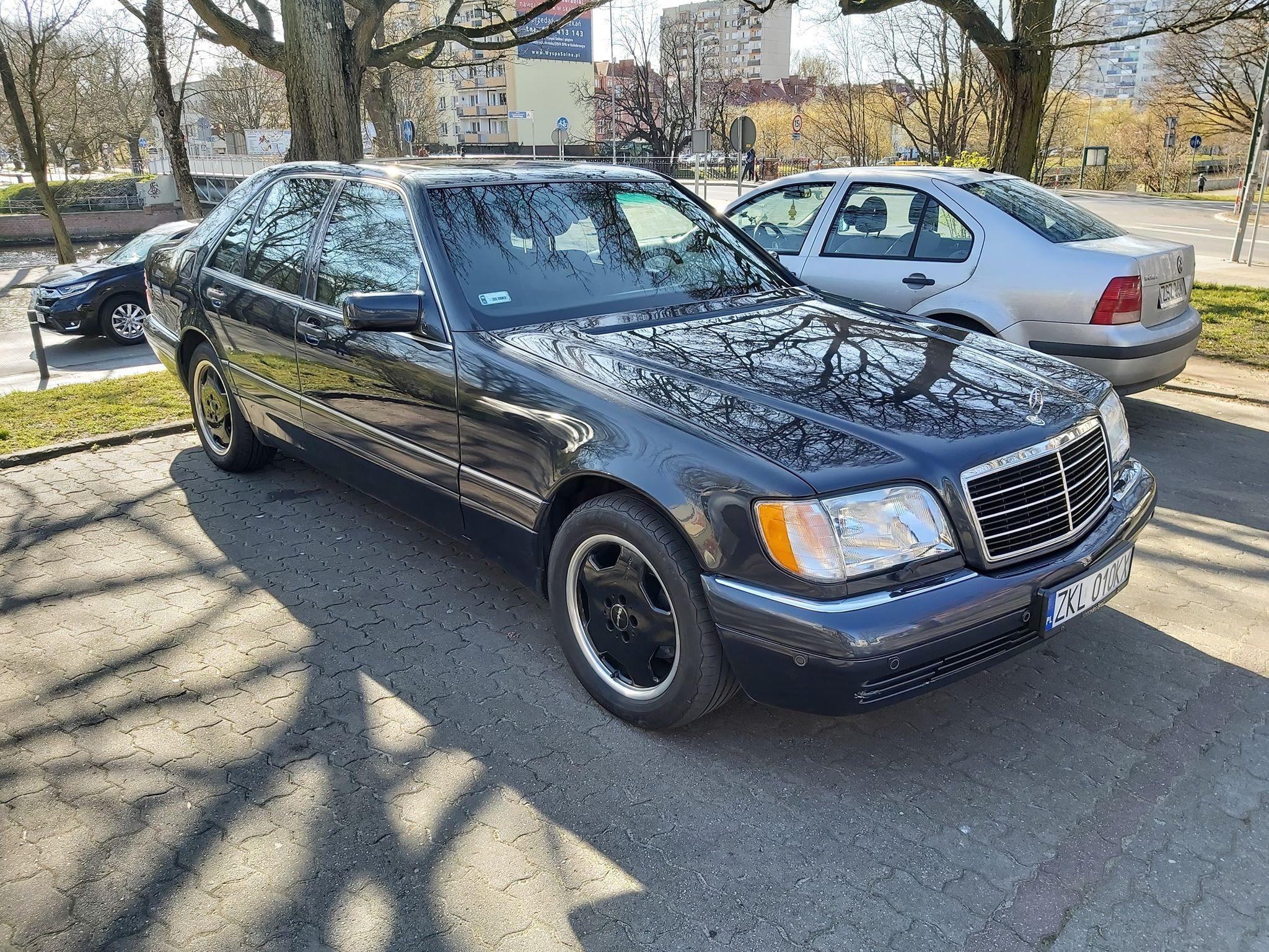 Klasa S – W140 350TD 1996 – 24500PLN – Kołobrzeg