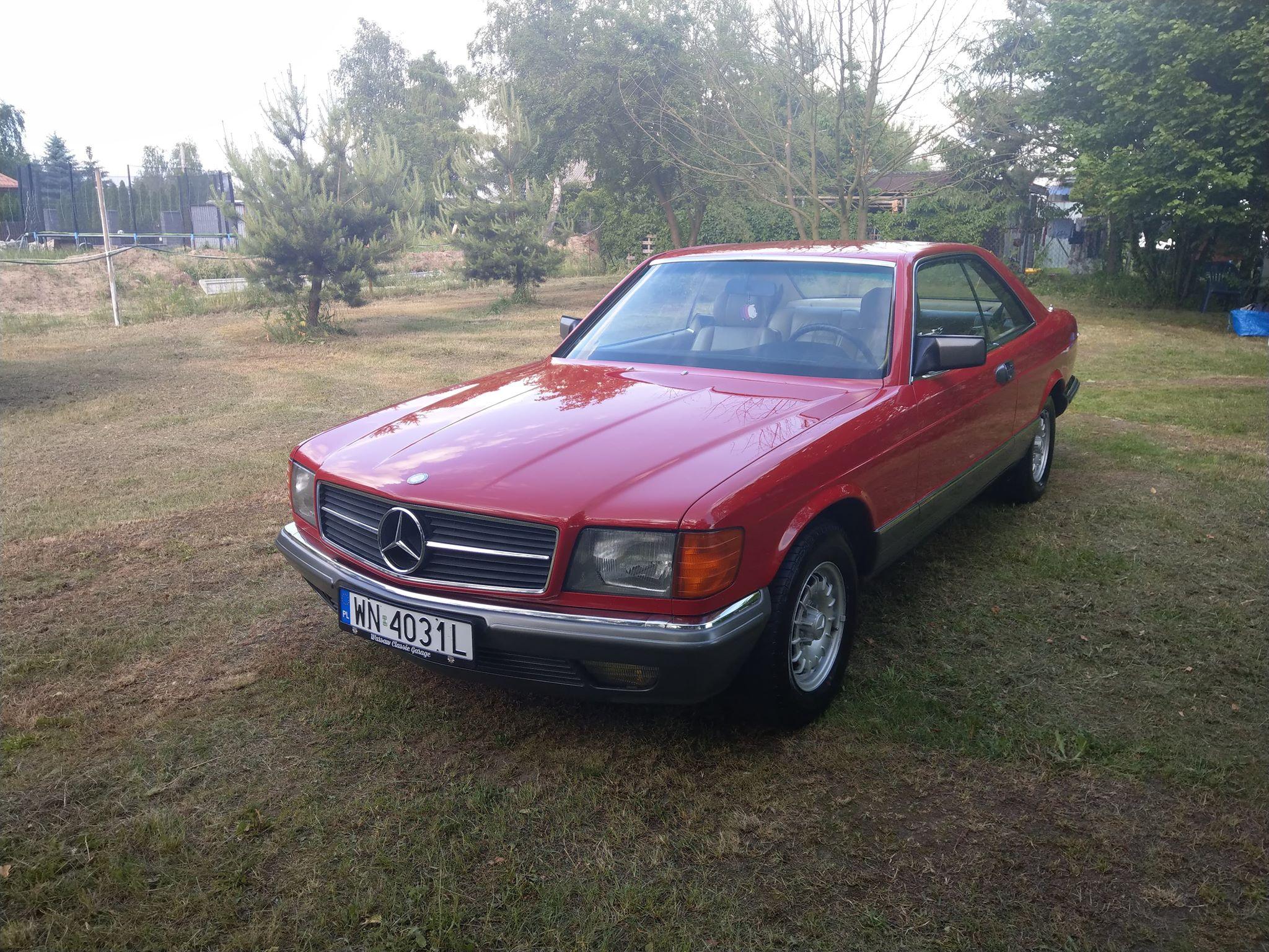 SEC – C126 380SEC 1983 – Sprzedany