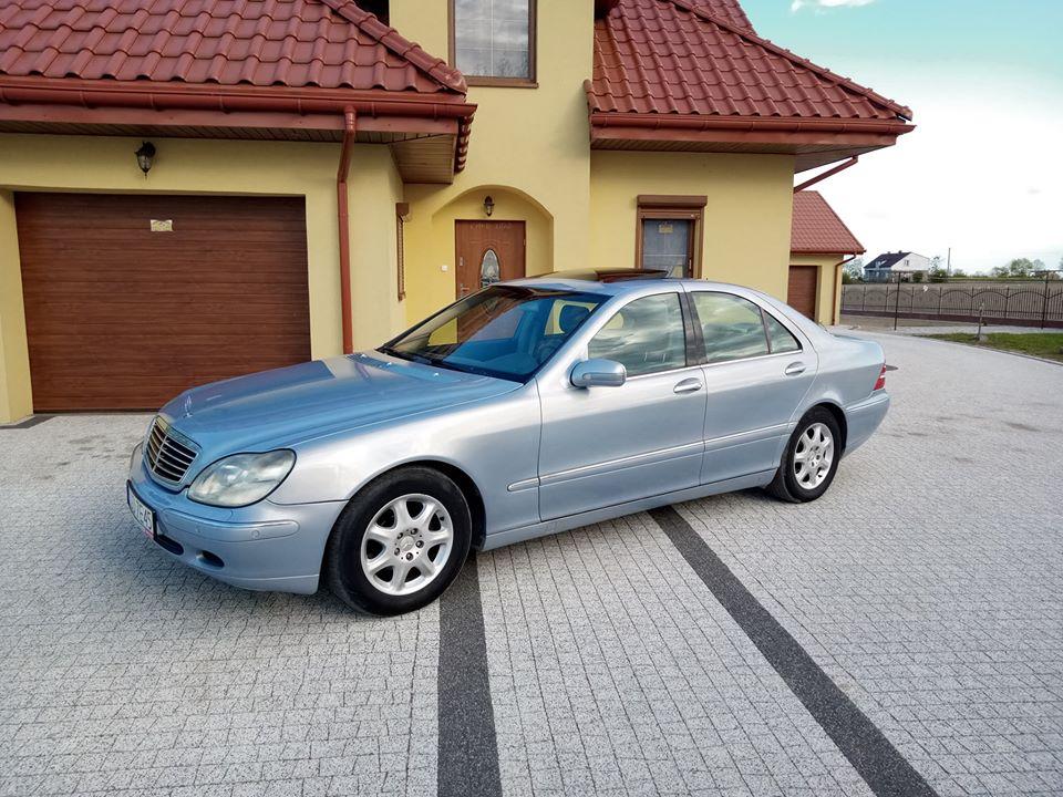 Klasa S – W220 320 1999 – 14500PLN – Zbójno
