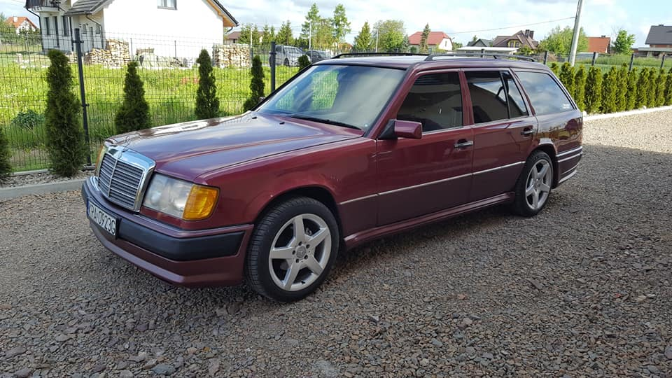 Klasa E – W124 300TE 1991 – 17500PLN – Michałowice