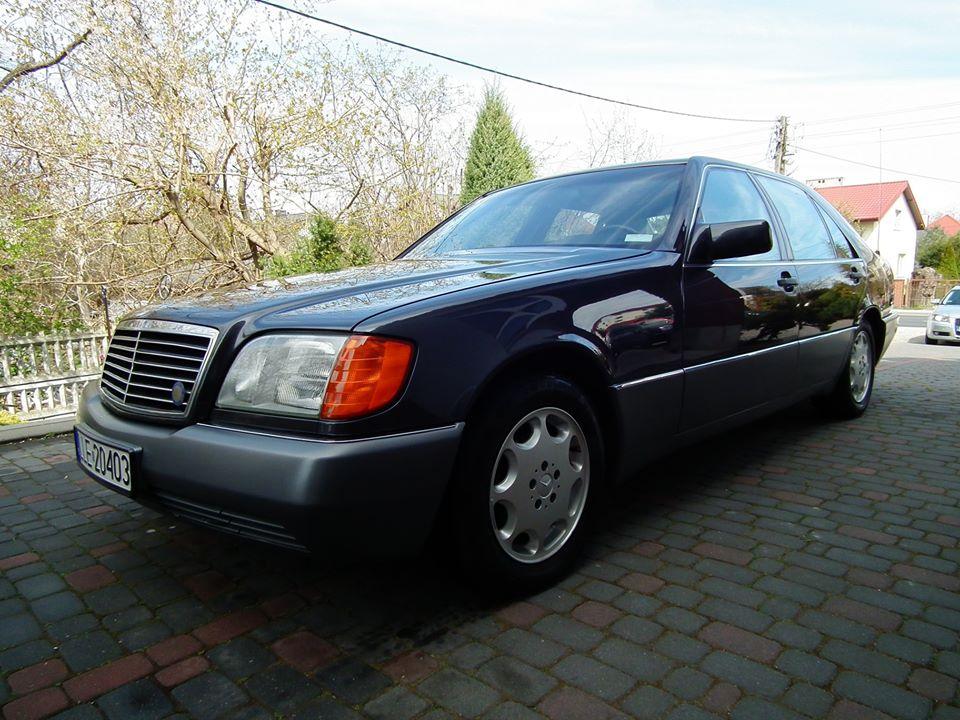 Klasa S – W140 400SEL 1991 – 43000PLN – Lublin