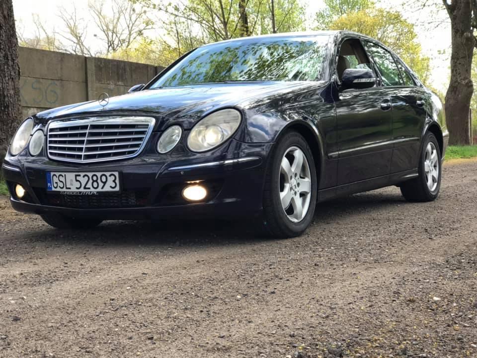 Klasa E – W211 320CDI 4matic 2006 – 36000PLN – Słupsk
