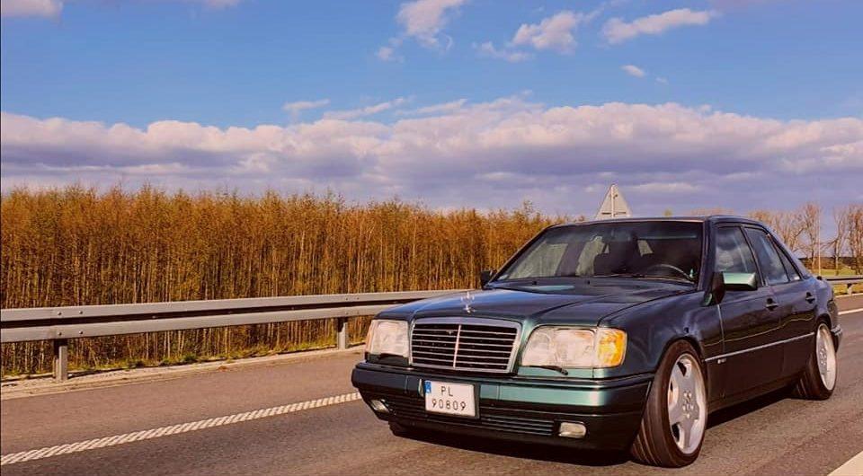 Klasa E – W124 300D 1994 – 24000PLN – Leszno