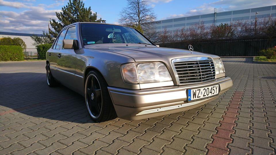 Klasa E – W124 E280 1993 – 14000PLN – Ożarów Mazowiecki