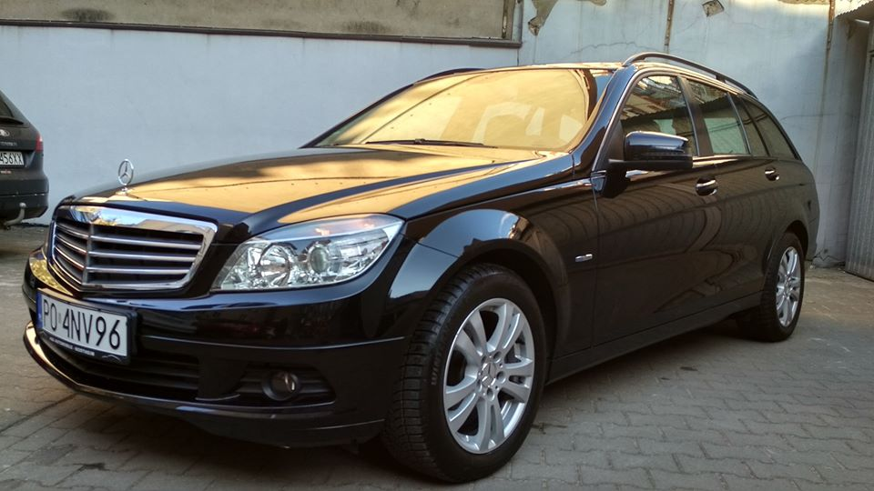 Klasa C – S204 180 Kompressor BlueEFFICIENCY 2009 – 27900PLN – Poznań