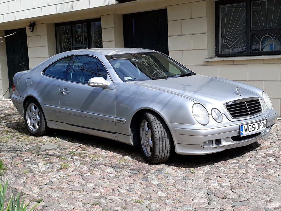 CLK – W208 200 2000 – 13600PLN – Gostynin