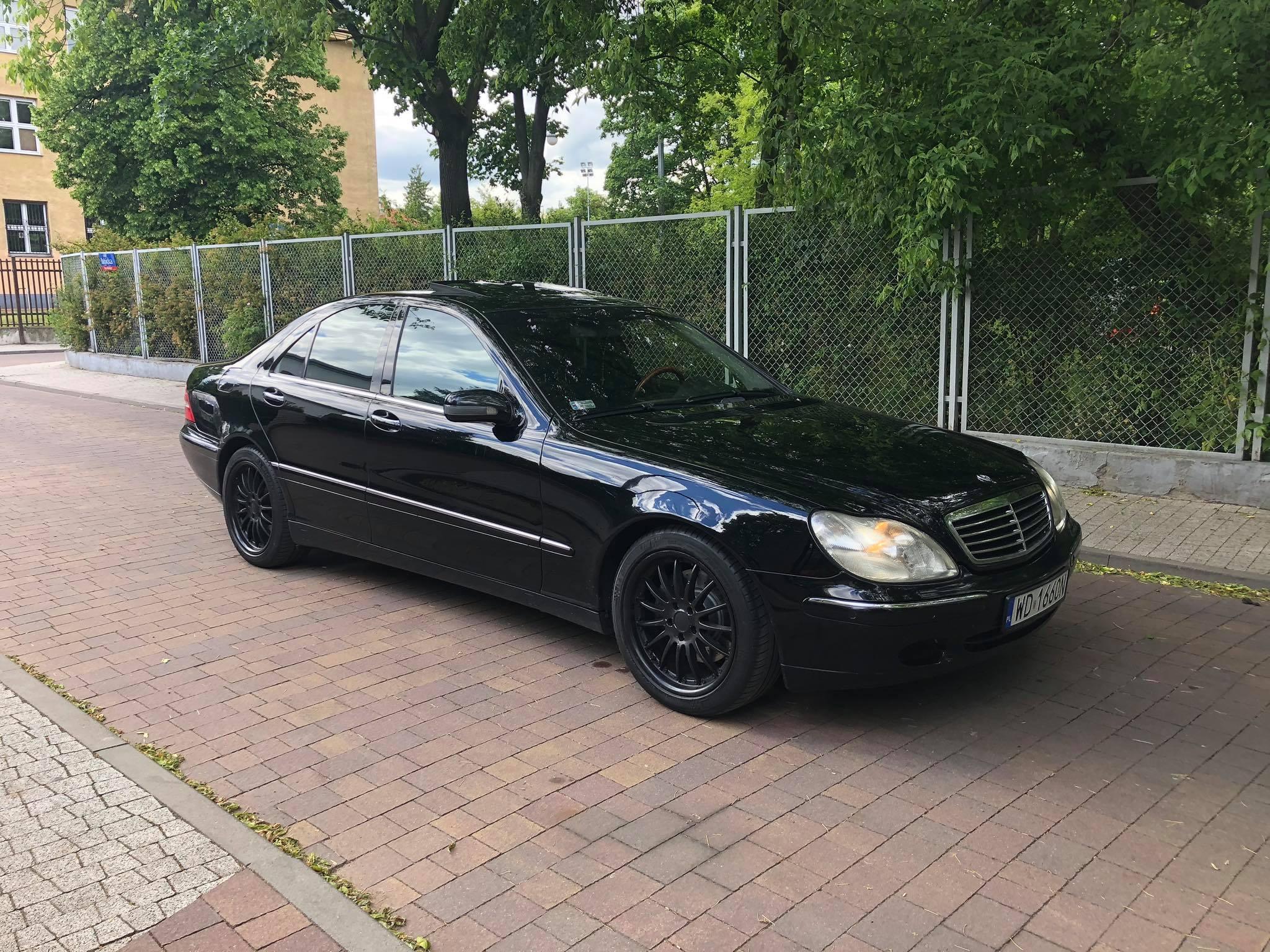 Klasa S – W220 500 2001 – 19999PLN – Warszawa