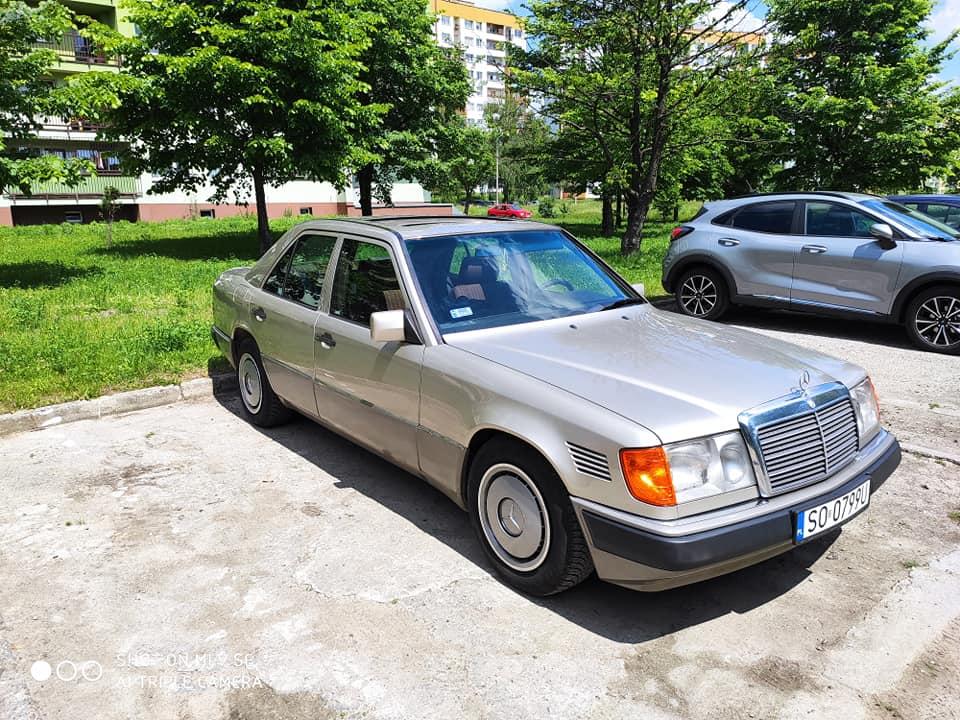 Klasa E – W124 250TD 1991 – 13000PLN – Sosnowiec
