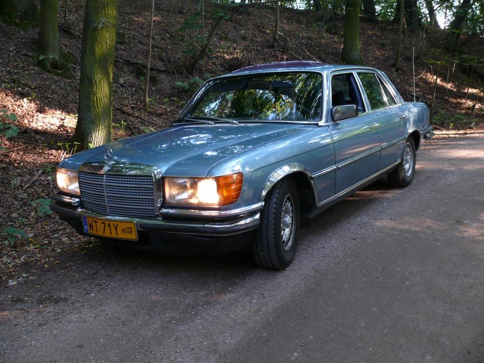 Klasa S – W116 280SE 1972 – 15000PLN – Serock
