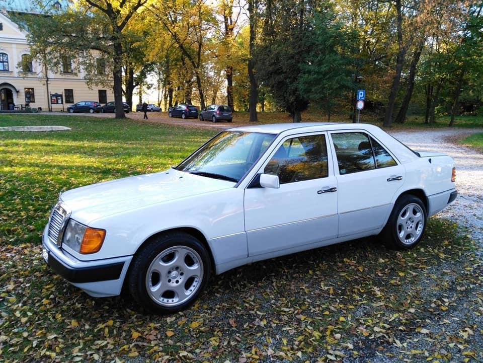 Klasa E – W124 260E 1989 – 25000PLN – Gliwice