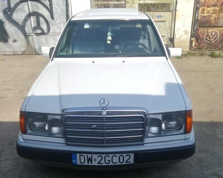 Klasa E – W124 200D 1992 – 9200PLN – Wrocław