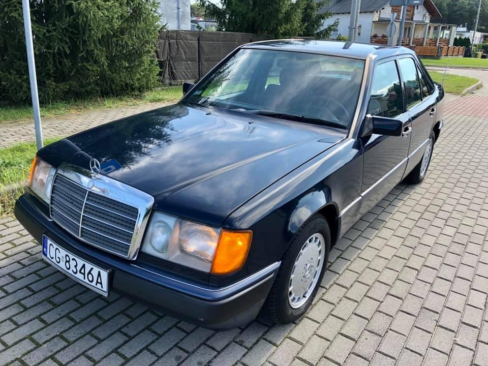 Klasa E – W124 250D 1991 – Sprzedany