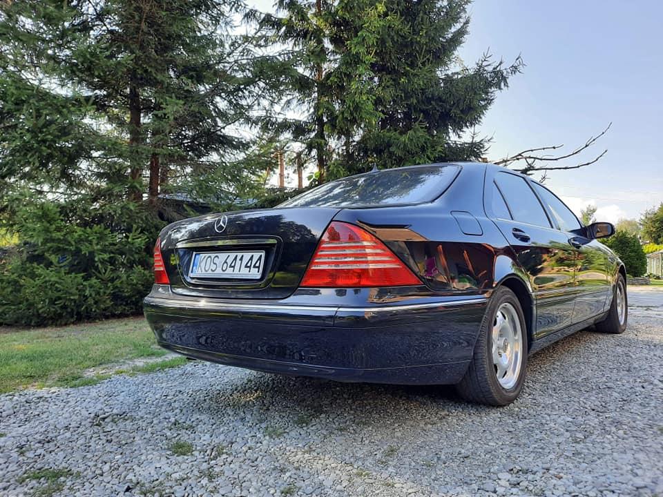 Klasa S – W220 500L 2004 – 35900PLN – Brzeszcze