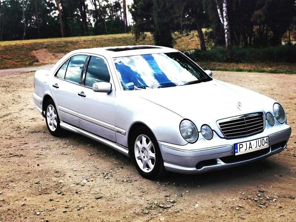 Klasa E – W210 300TD 1998 – 13300PLN – Jarocin