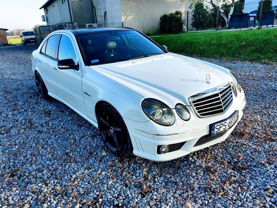 Klasa E – W211 E63 AMG 2008 – 134900PLN – Mizerów