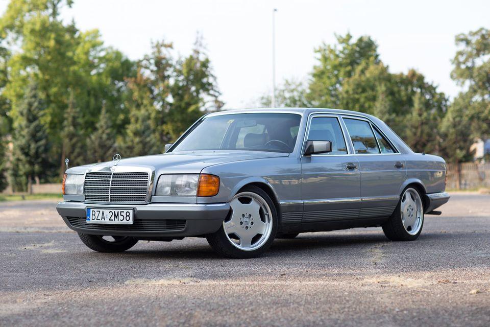 Klasa S – W126 500SE 1980 – 35000PLN – Zambrów