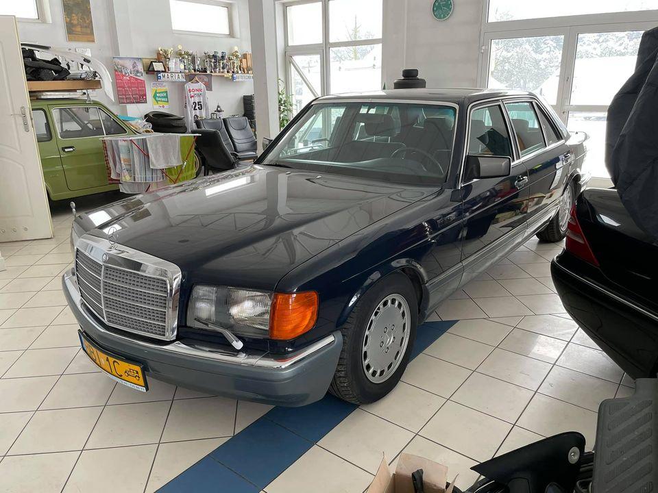 Klasa S – W126 560SEL 1987 – Sprzedany