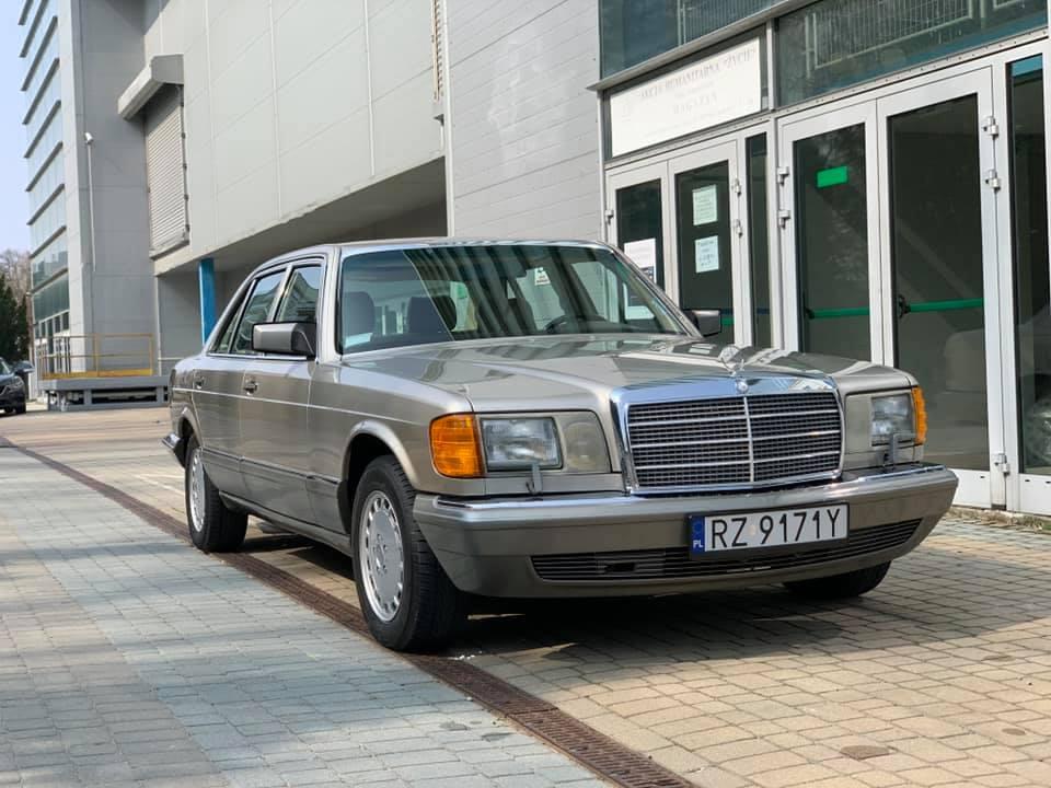 Klasa S – W126 560SEL 1989 – 46900PLN – Rzeszów