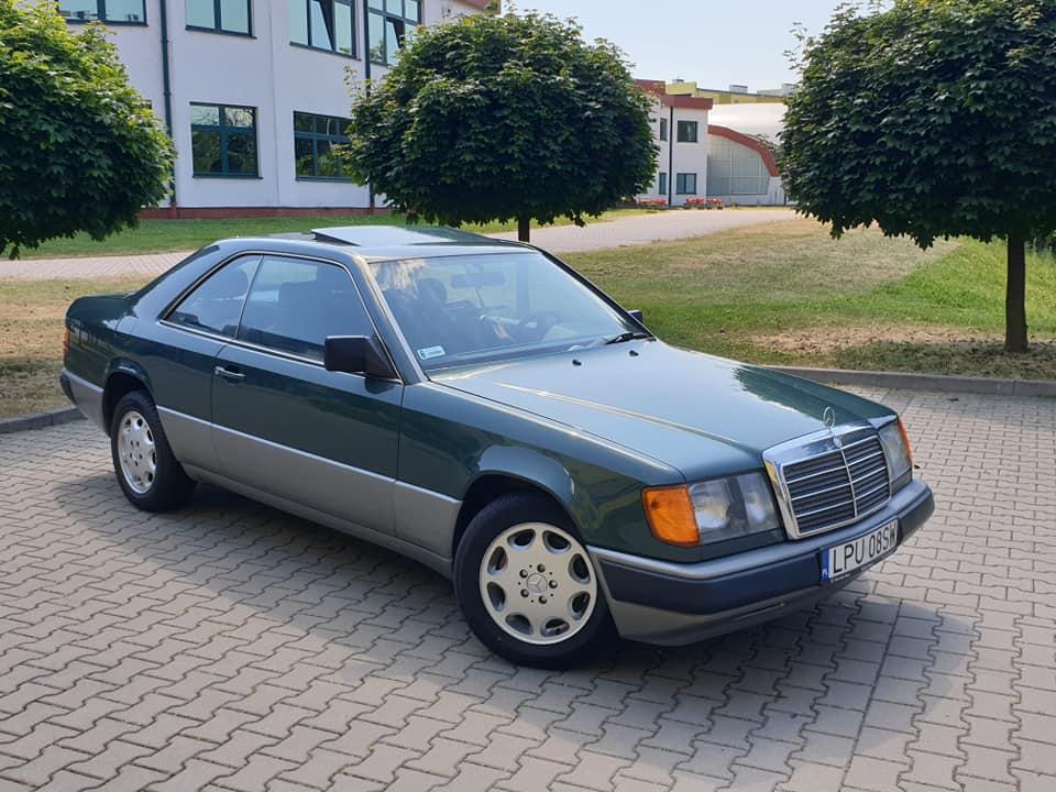 Klasa E – C124 230CE 1988 – 17900PLN – Lublin
